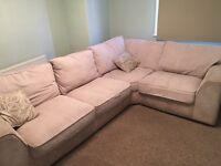 Leekes corner sofa