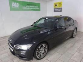 BLACK BMW 3 SERIES 2.0 320D M SPORT ***FROM £346 PER MONTH***