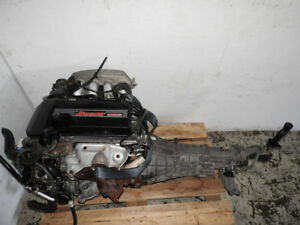 JDM Toyota 3S Beams Engine 6 Speed Transmission Altezza 3SGE 3S-