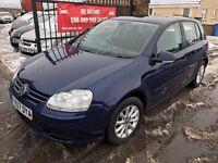 2007 VW GOLF TDI MATCH 105, 1 YEAR MOT, FULL SERVICE HISTORY, WARRANTY