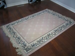 pink pattern area rug