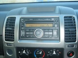 Nissan car radio