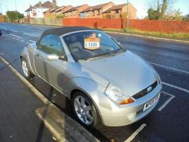 FORD STREETKA 1.6I 2DR...CONVERTABLE, 2005 (05 PLATE)..