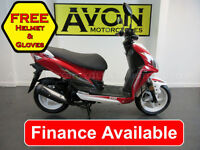 NEW Sym Jet 4 R 50cc 2-Stroke Sports Scooter Automatic Twist and Go - Finance