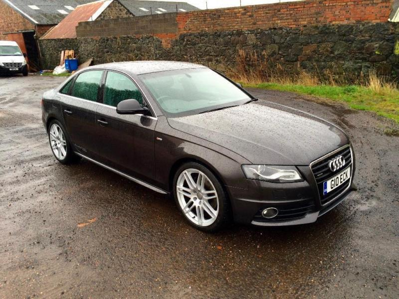 2009 audi a4 3 0 tdi s line quattro 4dr in lochgelly fife gumtree. Black Bedroom Furniture Sets. Home Design Ideas