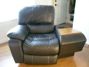 3 Year Old 2 Piece Powered Custom Zero Clearance Recliner