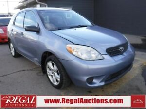 2005 TOYOTA MATRIX BASE 4D HATCHBACK BASE