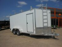 "2015 Mission Trailers 7x16+36"" Wedge"