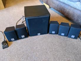 Creative inspire 5.1 5300 - black speaker set surround system X6 piece