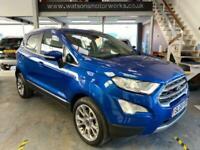 2018 Ford Ecosport TITANIUM 1.0T 125PS, ONLY 6373 miles, SatNav, rear camera Aut