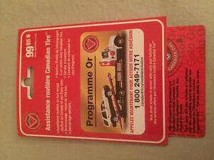 Canadian Tire Roadside Assistance Gold/Assistance routière Or