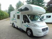 Chausson Welcome 17, 5 berth, rear fixed bunks, coachbuilt motorhome for sale