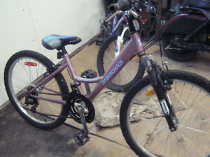 girls 18 speed bike