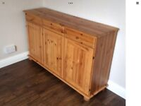 Pine sideboard wanted