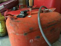Boat metal gas can