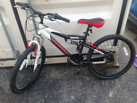 Barely Ridden Nakamura Monster 2.2 Junior Mountain Bike, MUST GO