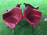 Set of 4 Eames style chairs