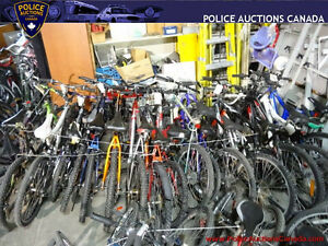 Lot of 18 Assorted Used Bikes