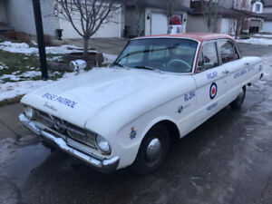 1960 Ford Frontenac Police Car, Rare Daily Driver
