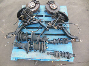JDM EP3 BRAKE CONVERSION 5 LUG CIVIC TYPE R EP3 SHOCKS STRUTS EP