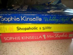 "Sophie Kinsella 'Shopaholic"" books"