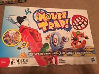 Mouse trap game, TGolden coin maker Tap Tap Wooden Art With 25cm Board,