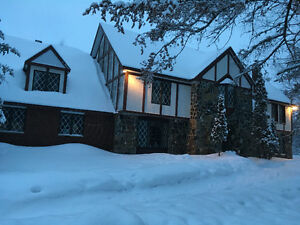 Country home (40 acres) minutes from town (Hersey Lake)