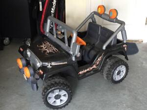 Jeep voiturette electrique