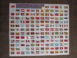 DRAPEAUX DE 150 PAYS. 150 COUNTRY FLAGS