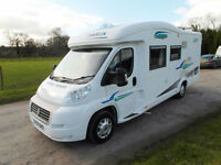 Chausson Allegro 94 - 2009 - Rear Bed over Garage - Satellite System
