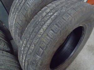 Continental Cross Contact 215/70R16 100S , Thread 5-7/32, 60$