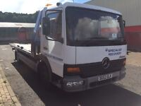 Mercedes Atego 818 Tilt and Slide Recovery Truck 7.5T