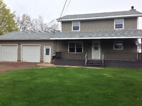 IN THE HEART OF SHEDIAC .DOUBLE CAR GARAGE ,NEW KITCHEN.MORE