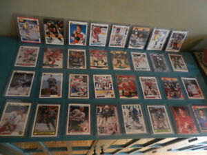 NHL Hockey Hall of Fame , Stars Rookie Cards Only Lot of 40 MT