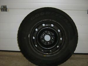 Goodyear Nordic Winter Tires and Rims