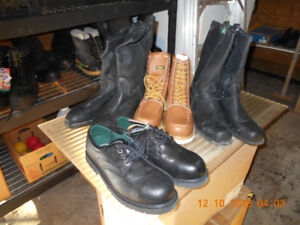 NEW MEN'S SIZE 13 SAFETY CSA STEEL TOE WORK BOOTS $70 each