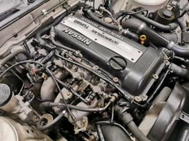 Nissan 180sx 200sx Nissan skyline Sr20det Engine And Gearbox