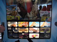 SUPER COOL ROBOTIC FROZEN FOOD / ICE CREAM VENDING MACHINE