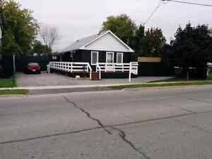 Big lot, clean renovated house near 401 Hwy.