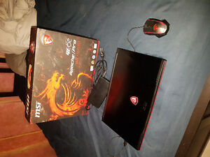 MSI GE62 Apache Pro Gaming Laptop!