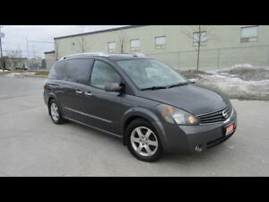 2008 Nissan Quest, SE, Leather, Roof, DVD, 3/Y warranty availabl