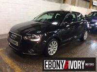 Audi A1 1.6 TDI SPORT 3dr MANUAL + FULLY SERVICED + 1 YEAR MOT (black) 2011