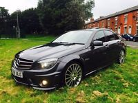 MERCEDES-BENZ C63 AMG MCT 4 MATIC 2009 FMSH HPI CLEAR UPGRADED EXHAUST SYSTEM!