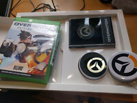 Overwatch xbox Origins Edition RARE Metal Coin and Metal Badge pack