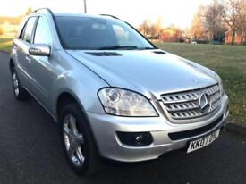 MERCEDES BENZ ML 280 3.0TD CDI DIESEL 7G-TRONIC S (2007 07) 4X4 NEW SHAPE