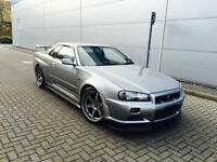 1999 V Reg Nissan Skyline 2.6 GTR V SPEC +GREY + ORIGINAL PARTS