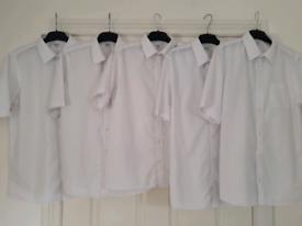 M&S Boys School Shirts