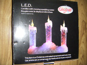 Led Christmas Candles Ornament