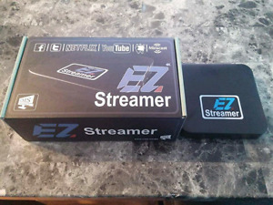 The new Ez streamer android box