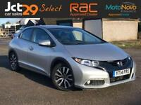 2014 HONDA CIVIC 1.6 I-DTEC SE PLUS-T VAT QUALIFYING + ONE OWNER FROM NEW